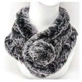 Ecological fur scarf