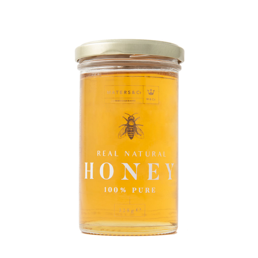 325g Honey Jars (Medium Size) - Maters & Co