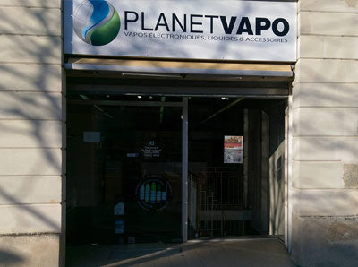 Magasin cigarette electronique Chateau-gontier Planet Vapo