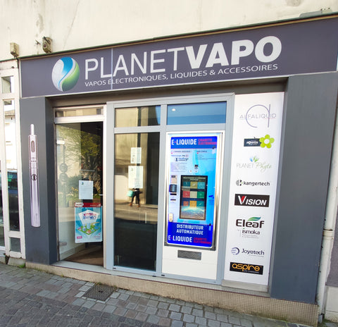 Boutique de cigarette électronique Planet Vapo à Carquefou