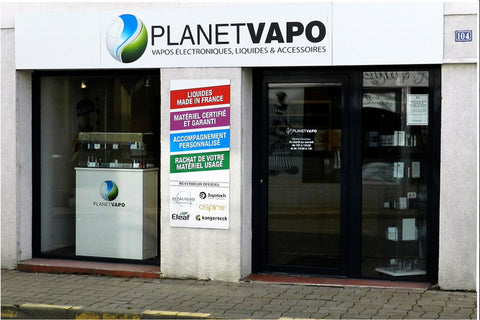 Magasin de cigarette electronique Chantonnay Planet Vapo