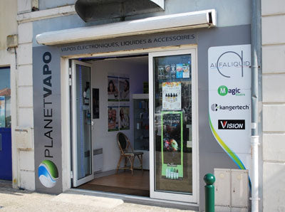 Magasin de cigarette électronique Les Sables d'Olonne planet Vapo
