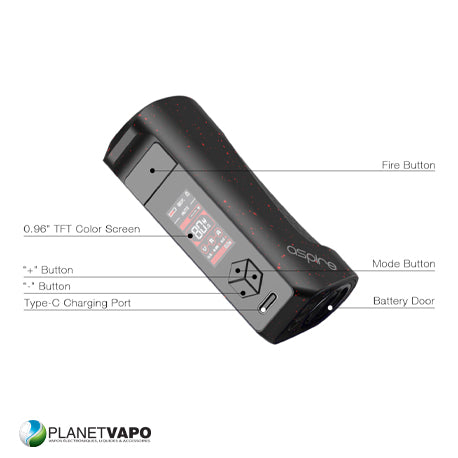 Box FINIXX 80W - Aspire