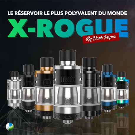 Clearomiseur X-rogue - Dark Vapor