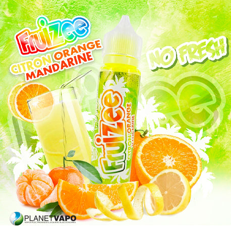 Citron Orange Mandarine No Fresh 50 ml - Fruizee
