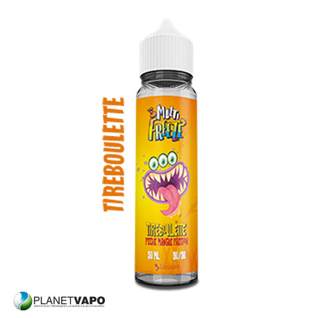 Tireboulette Pêche Mangue Passion 50ml - Liquideo