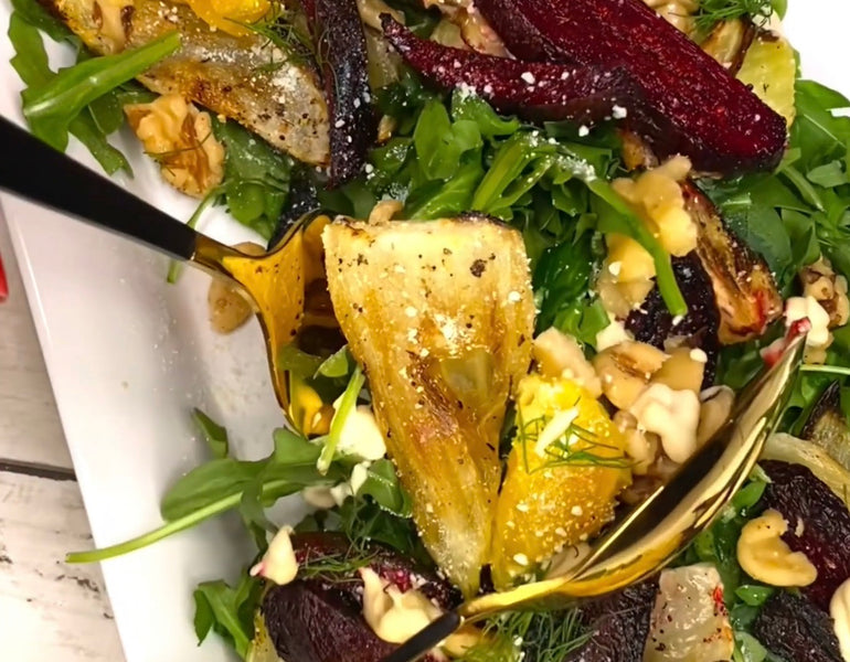 Bushra Khan's Winter Harvest Salad