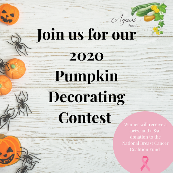 Pumpkin Decorating Contest! Now through October 27th