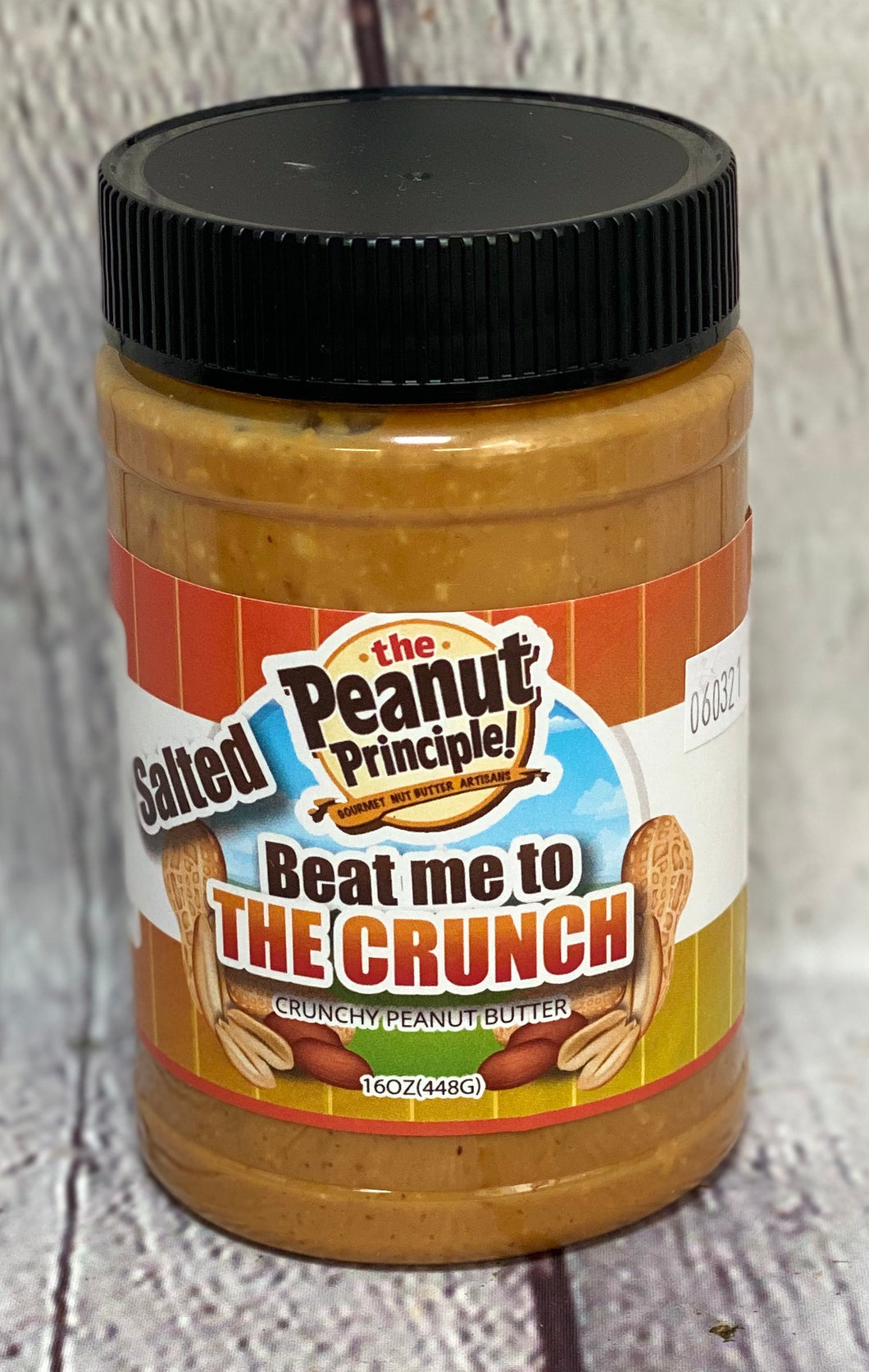 Peanut Butter - Beat me to the Crunch - The Peanut Principle