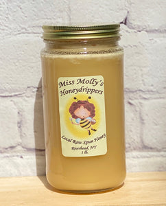 Honey - Raw Spun - Miss Molly's Honeydrippers - 1 pound