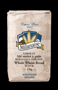 Flour - Whole Wheat Organic - Milanaise 5 lbs