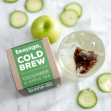 Load image into Gallery viewer, Cucumber & Apple - Cold Brew - Tea - Organic - Teapigs - 10 Sachets
