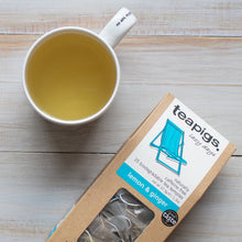 Load image into Gallery viewer, Tea - Lemon & Ginger - Organic - Teapigs - per package of 15 Sachets