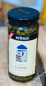Capers - Krinos - Imported - 8 oz