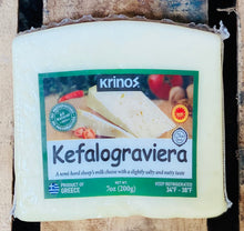 Load image into Gallery viewer, Cheese - Kefalograviera - Krinos - 200g