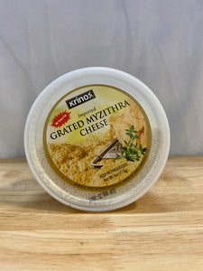Cheese - Grated Myzithra - 4 oz.