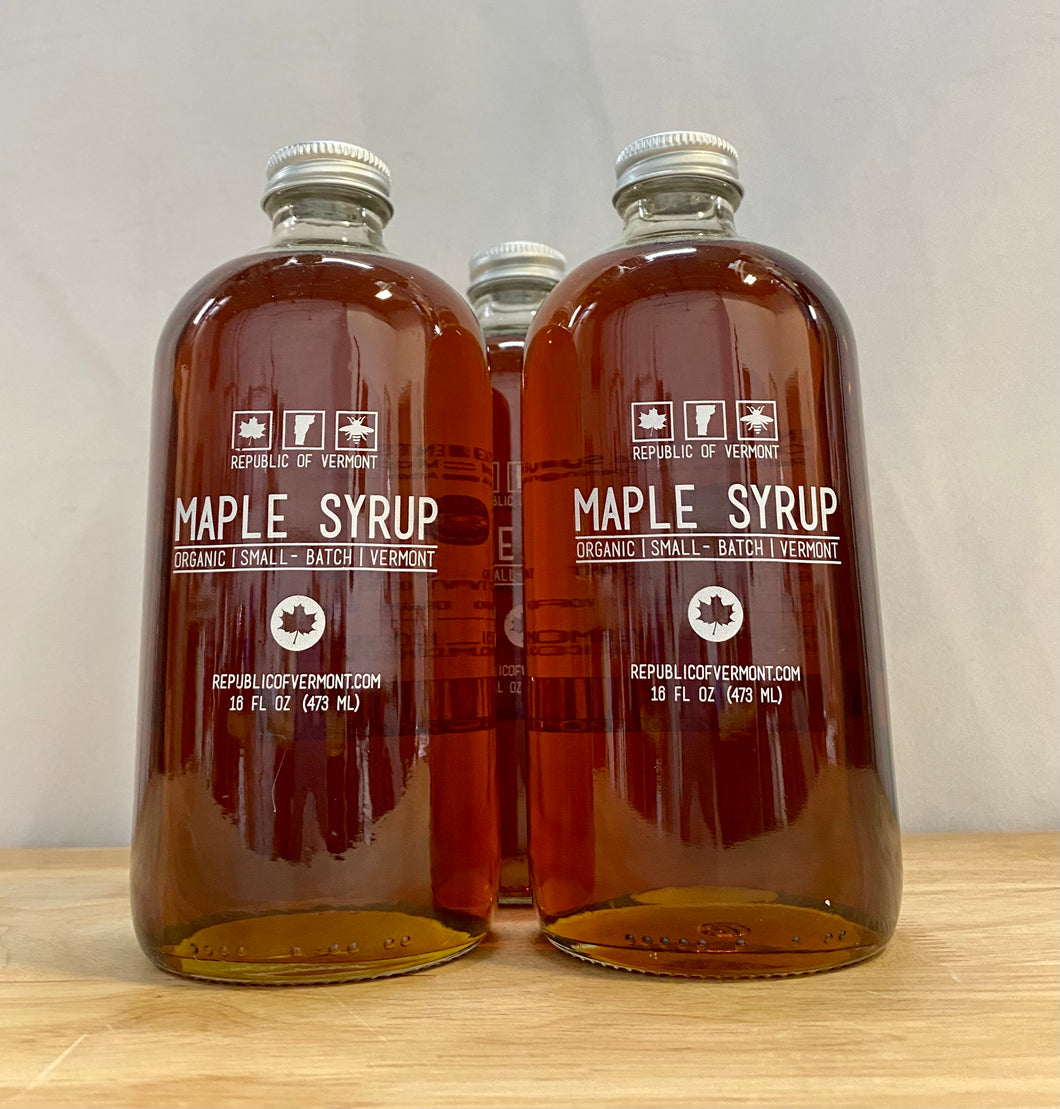 Maple Syrup - Organic - Republic of Vermont - 16 fl oz