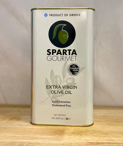 Olive oil - Extra Virgin - Sparta 3 L