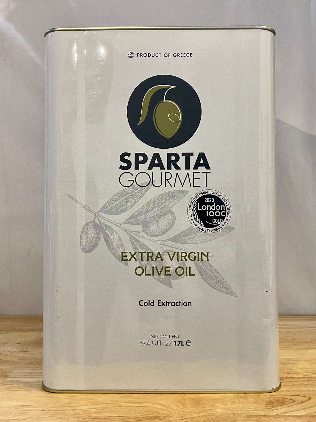 Olive Oil - Extra Virgin - Sparta 17L