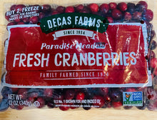 Load image into Gallery viewer, Fresh Cranberries - 12 oz