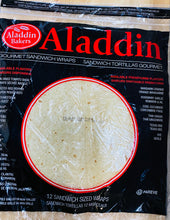 Load image into Gallery viewer, Aladdin Bakers - Gourmet Sandwich Wraps - Plain - pack of 12