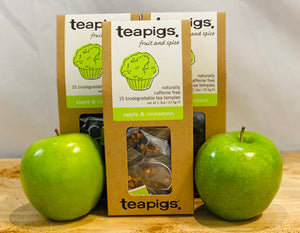 Tea - Apple Cinnamon - Teapigs - Organic - per package of 15 satchets