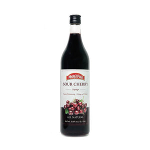 Sour Cherry Syrup - Marco Polo - 33.8oz - 1 liter