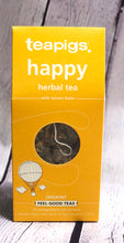 Load image into Gallery viewer, Happy - Tea - Organic - Teapigs - 15 Sachets