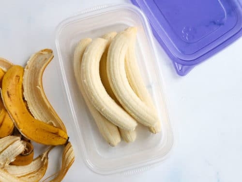 Frozen - Whole Peeled Bananas - 1lb