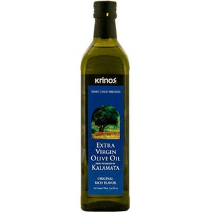 Olive oil - Extra Virgin - Krinos , Imported from Kalamata, Greece 750 ml