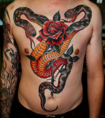 Tatouage Serpent