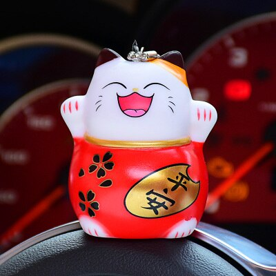 Maneki Neko Porte Clés Cartoon | Ugoshi