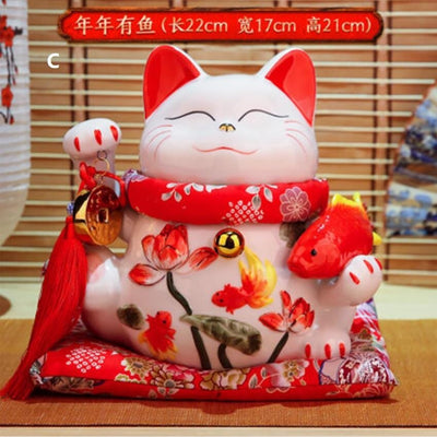 Maneki Neko Piggy Bank | Ugoshi