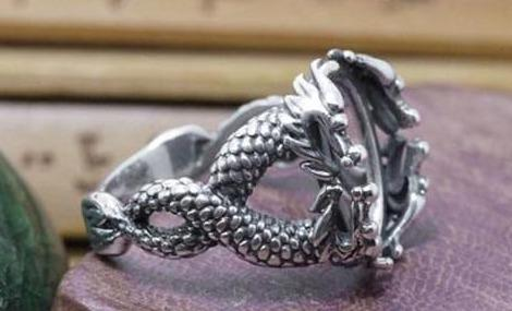 Bague <br> Dragon Celtique - Univers Japonais