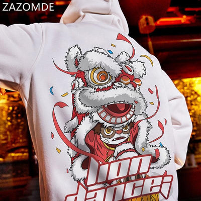 Sweat Japonais Lion Dance | Ugoshi