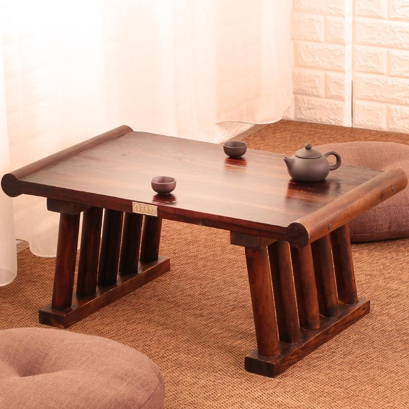 Table Basse Bois Japonaise