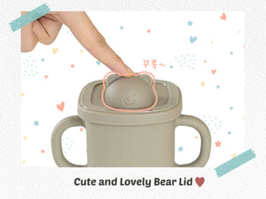 Silicon Bear Spout Cup