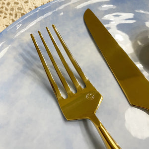 Full Gold Stainless Steel Cutlery in Set