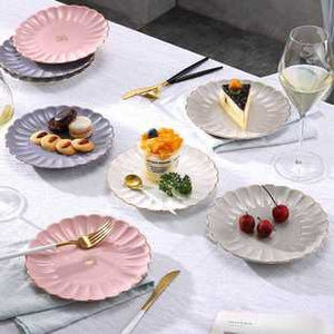 Pumpkin Plate in Pink