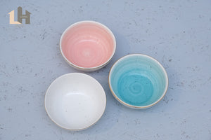 Water Color 4.7inch Bowl in Pink