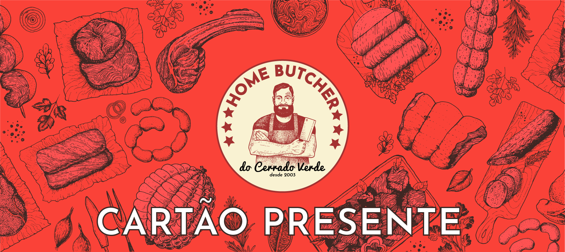 Cartão Presente do Home Butcher