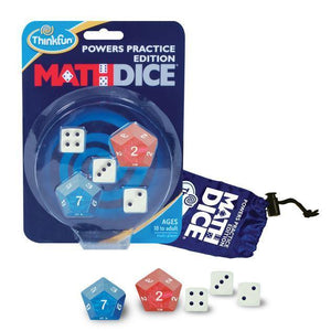 Math Dice Powers Practice-Thinkfun-1-Ludicus.ro - Magazinul Clipelor magice