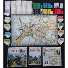 Încarcă imaginea în vizualizatorul Galerie, Ticket to Ride - Europe-Days Of Wonder-2-Ludicus.ro - Magazinul Clipelor magice