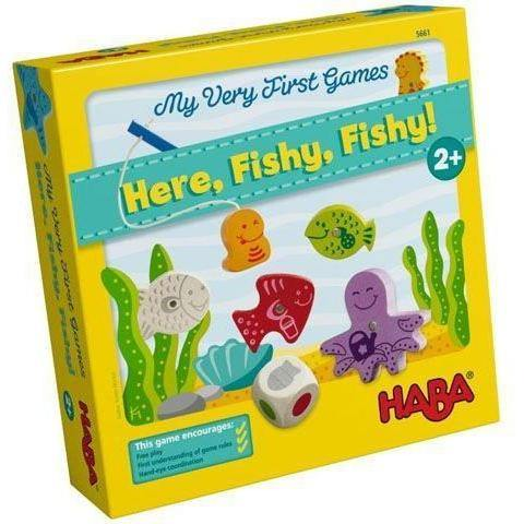 My Very First Games Here, Fishy, Fishy !-Habba-1-Ludicus.ro - Magazinul Clipelor magice