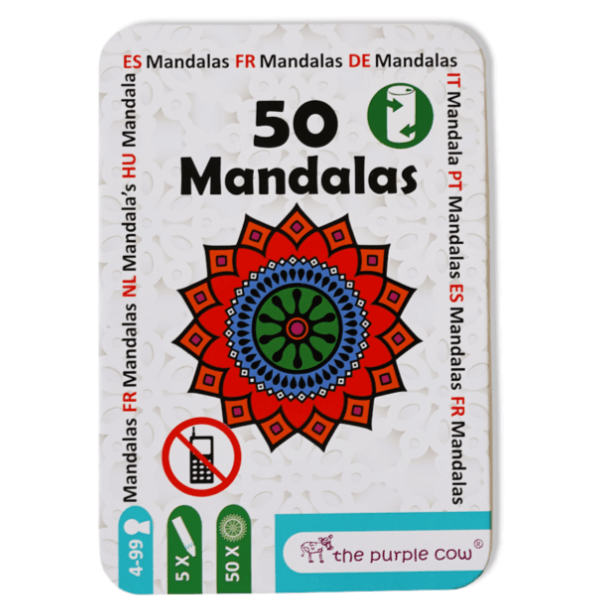 50 Mandalas - The Purple Cow-the purple cow-1-Jocozaur