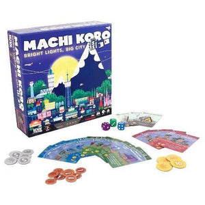 Machi Koro - Bright Lights, Big City-idw games-1-Jocozaur