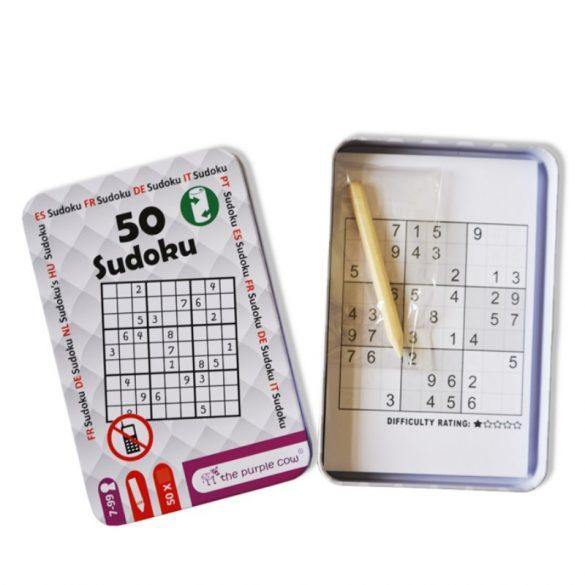 50 Sudoku-the purple cow-1-Jocozaur