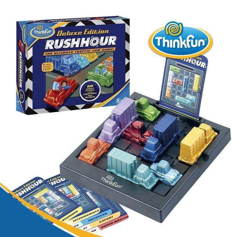 Rush Hour Deluxe Edition-Thinkfun-1-Jocozaur