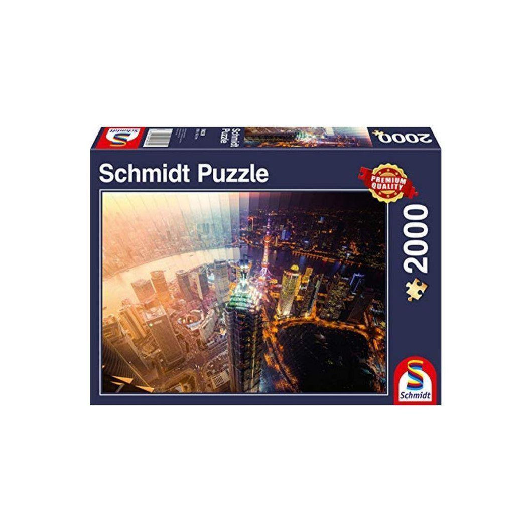 Puzzle 2000 DAY AND NIGHT, TIME SLICE-Schmidt-1-Jocozaur