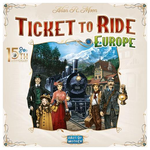 Ticket to Ride: Europe - 15th Anniversary